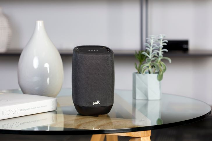 Polk Assist is a full Assistant and Chromecast speaker, available next month for $199