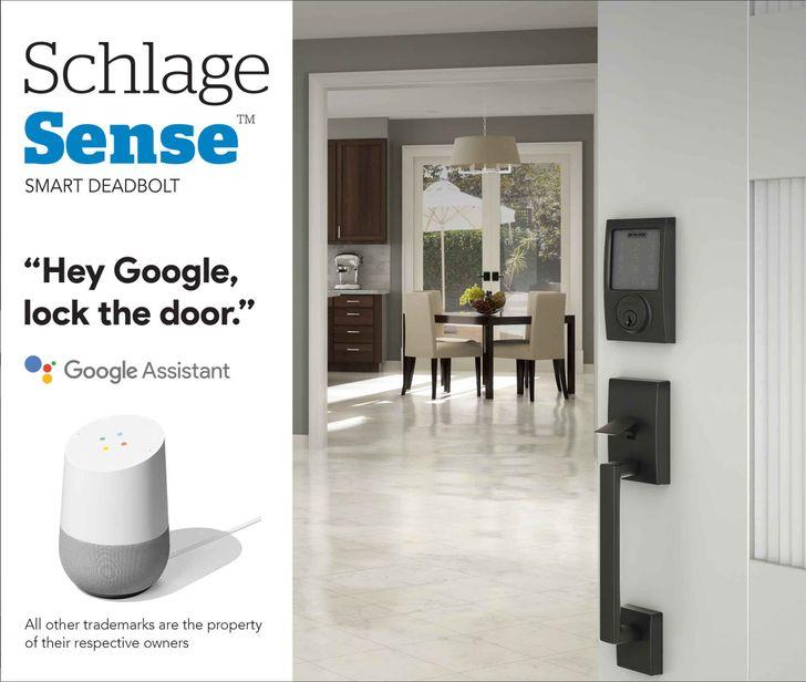 Schlage Sense Smart Deadbolt now supports Google Assistant