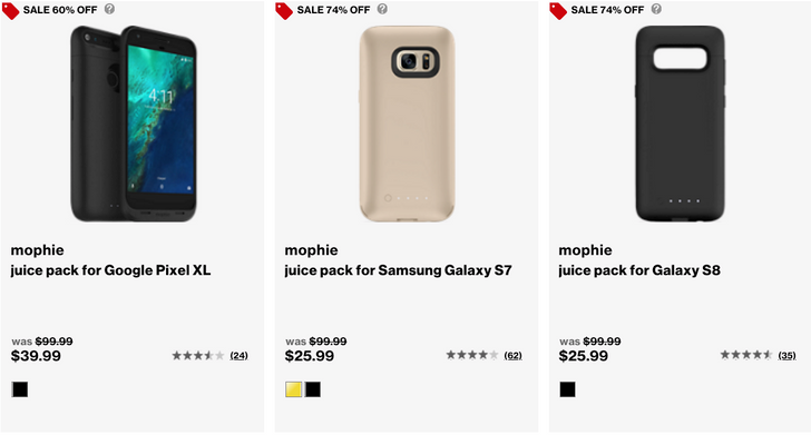 [Deal Alert] Mophie Juice Pack cases are up to 74% off from Verizon