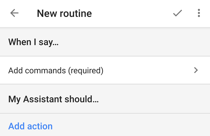 Custom routines for Google Assistant are going live