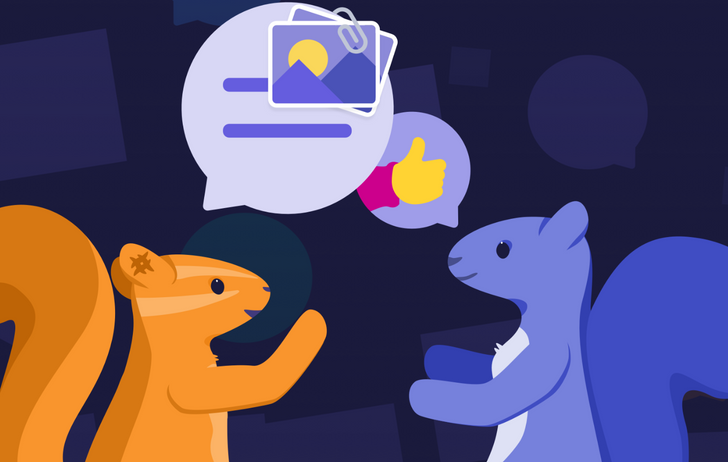 Yahoo just released a group chat app called Squirrel