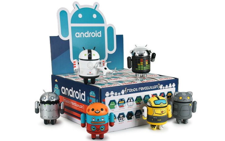 Dead Zebra's new Android Mini Robot Revolution figurines can be remixed for endless designs
