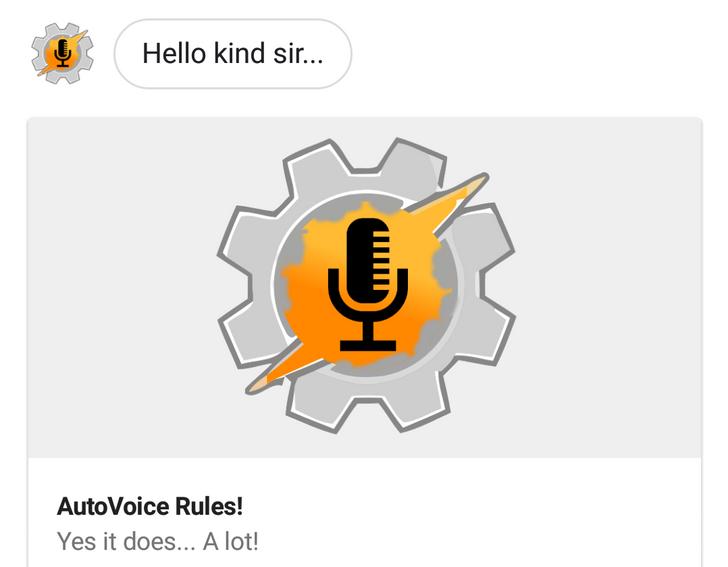 AutoVoice 3.5 lets you create your own custom Assistant actions and even replace Google's