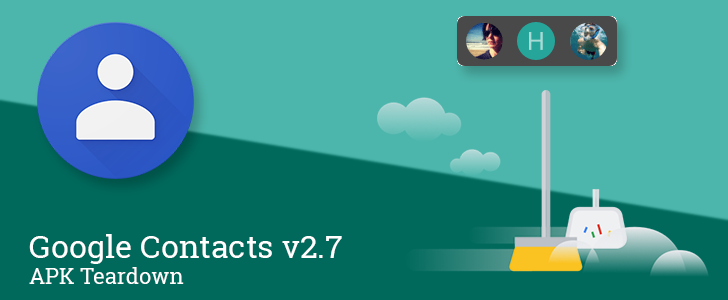 Google Contacts v2.7 prepares a new home screen widget and name suggestions using sources like Google Maps [APK Teardown]
