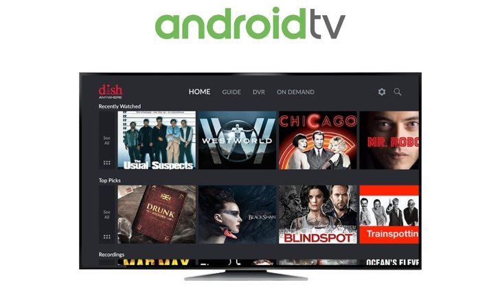 DISH Anywhere app comes to Android TV