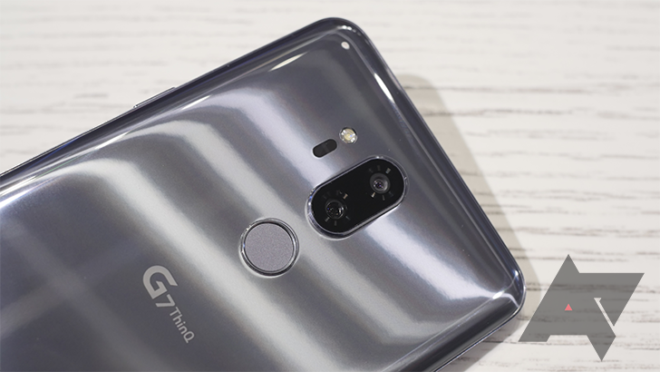 Using the LG G7's 'intelligent' camera sure is a lot of work
