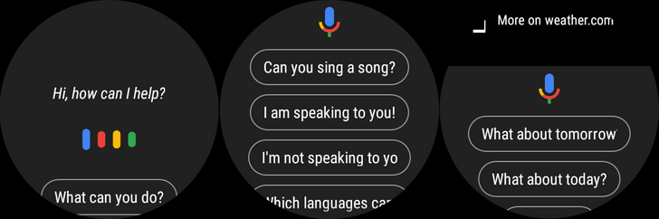 New Assistant features are rolling out on Wear OS