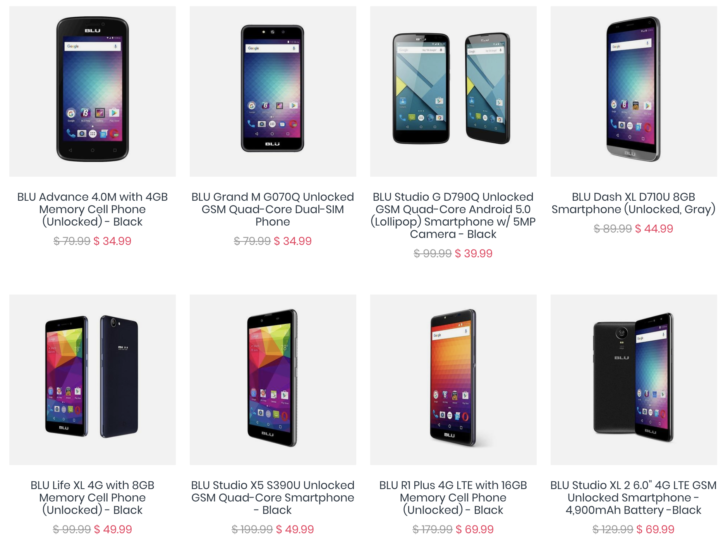 [Deal Alert] Refurbished Blu phones from Daily Steals for as little as $25 with our exclusive code