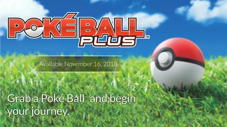 Poké Ball Plus accessory announced for Pokémon Go and Nintendo Switch