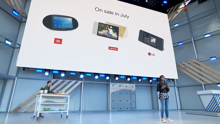Google Assistant smart displays from JBL, Lenovo, and LG coming in July