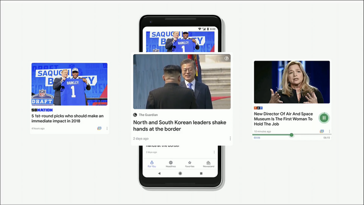 [Update: APK Download] Google News overhauled with new interface and features, merged with Play Newsstand