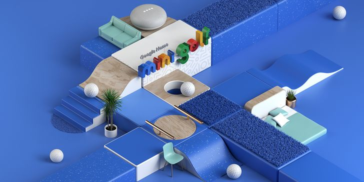 Google invites you to play some mini golf, win some prizes, and learn about Google Home