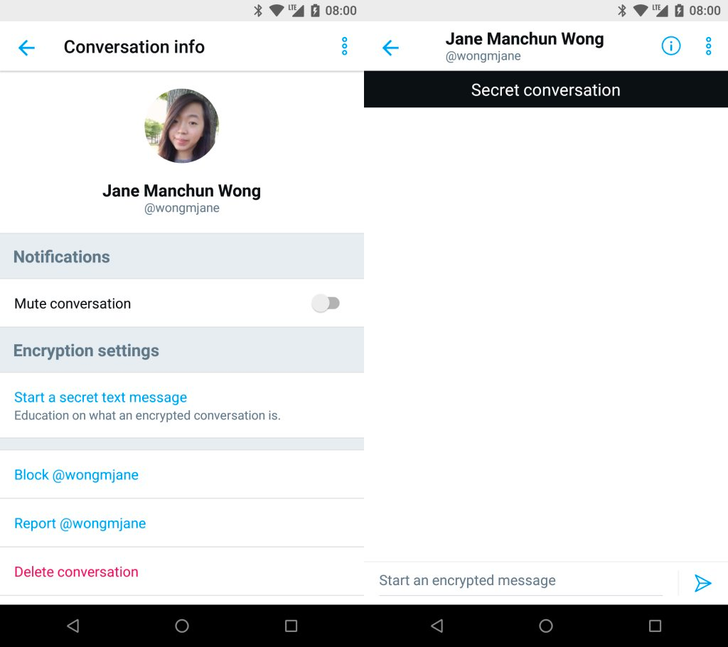 Twitter is testing encrypted 'secret conversations'