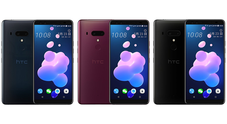 HTC U12+ leaked with Snapdragon 845 and 'Edge Sense 2'