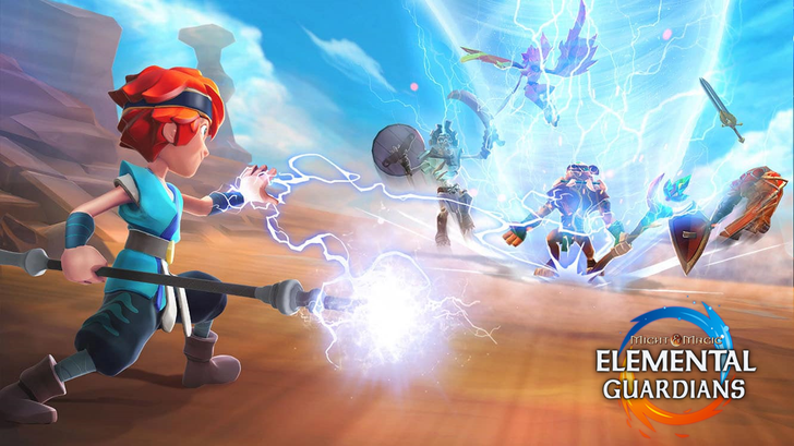 Ubisoft revives an aging series with the release of Might & Magic: Elemental Guardians, but it's just another ARPG auto-brawler