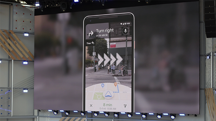 Google maps teases impressive augmented reality navigation interface but coming up with a really intuitive way to deliver that info is another challenge entirely google maps already knows its way around our world better gumiabroncs Gallery