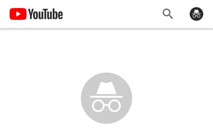 YouTube is testing an Incognito Mode in its Android app