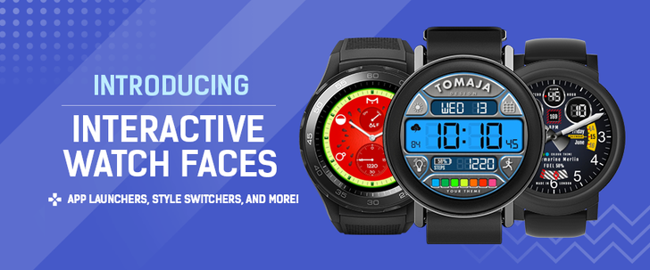 Facer update brings interactive watch faces to Wear OS