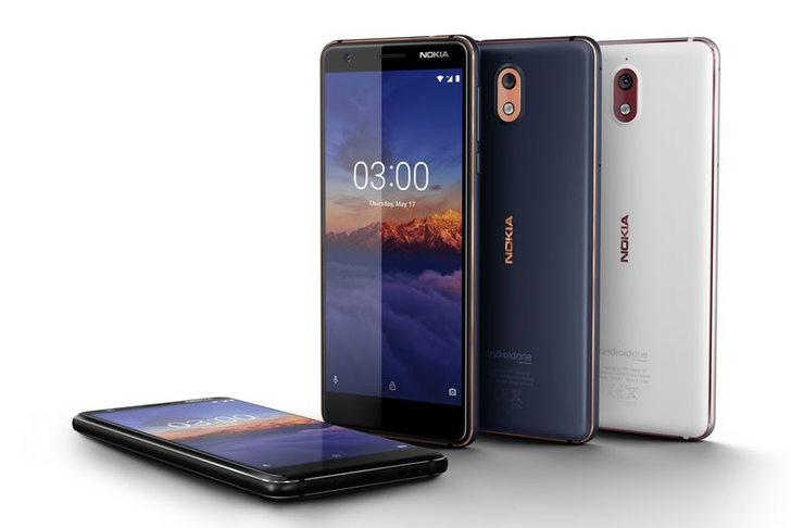 Nokia 3.1 launches in the US today at $159