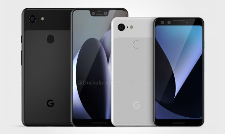 Pixel 3 factory CAD renders give 360-degree look at what might be Google's next phones