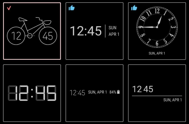 Samsung's new ClockFace app brings more clock styles to your