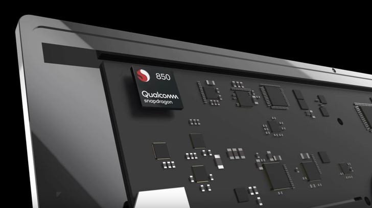 Qualcomm's new Snapdragon 850 is a processor built with laptops in mind