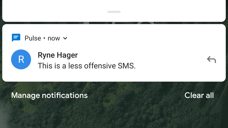 Android P DP3's notification reply UI gets a new icon