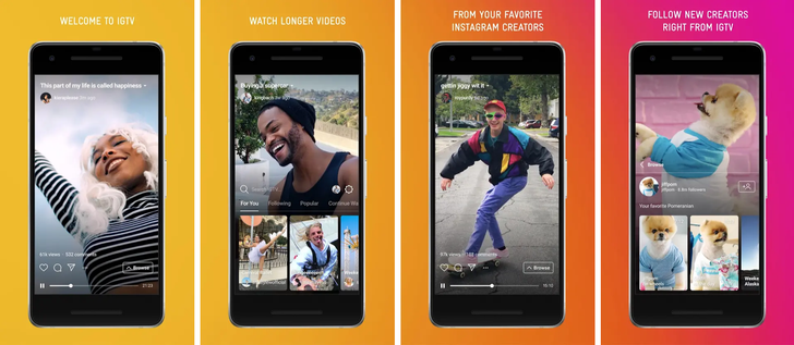 Instagram announces vertical video-centric IGTV app, main app passes one billion users