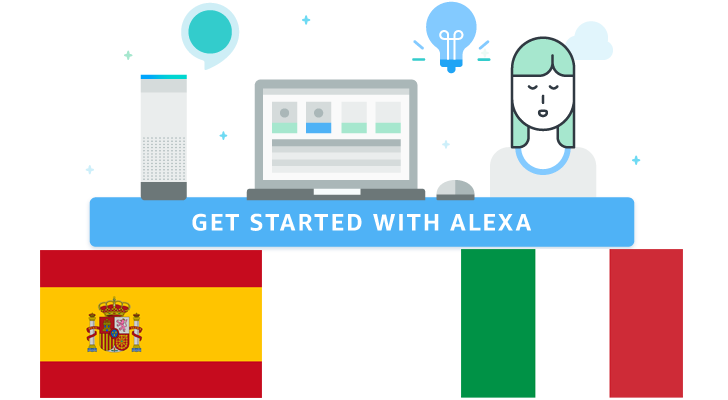 Alexa Skills Kit and Voice Service expand to Italy and Spain, Echo devices coming later in the year