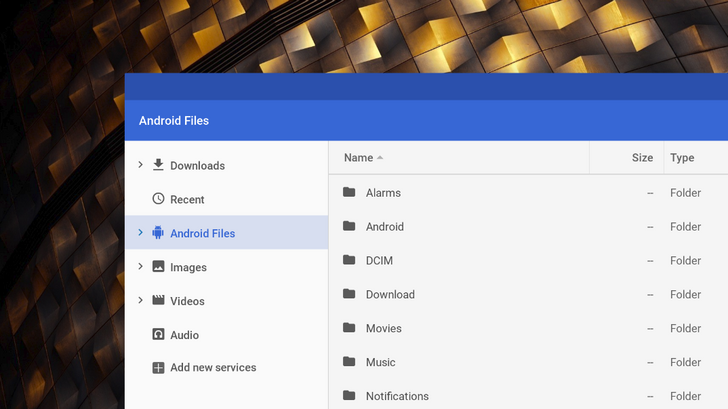 Android files will finally be accessible from Chrome OS file manager