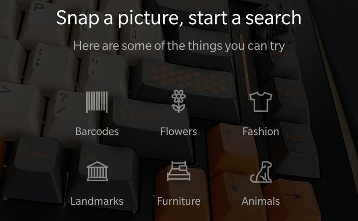 Microsoft adds AI-powered visual search to Bing app