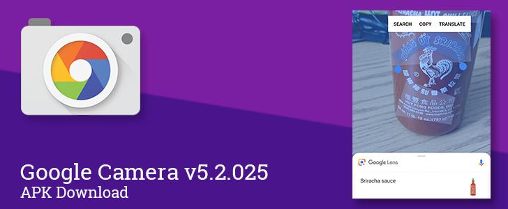 Google Camera v5 2 025 brings Lens mode to Google-supported