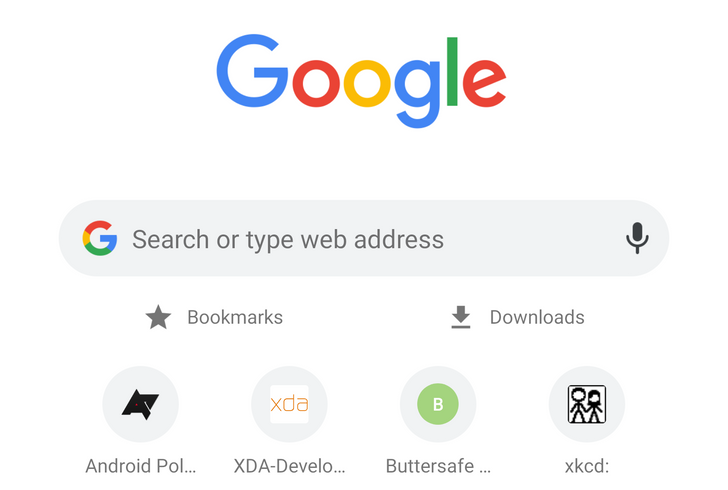Tip: Get a shortcut to Bookmarks and Downloads on every new Chrome tab page