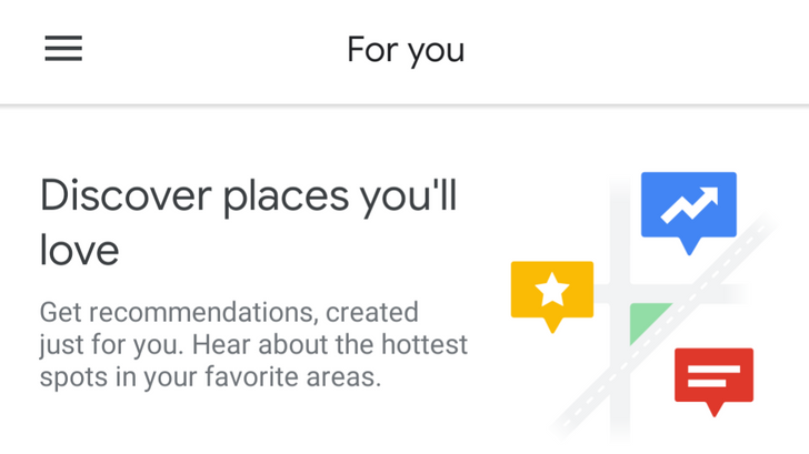 Google Maps 'For you' tab starting to appear for some (Updated)