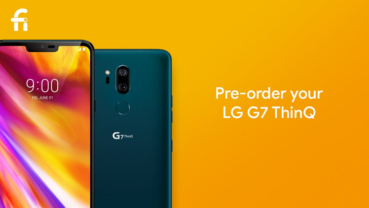 LG G7 and V35 go up for pre-order on Project Fi