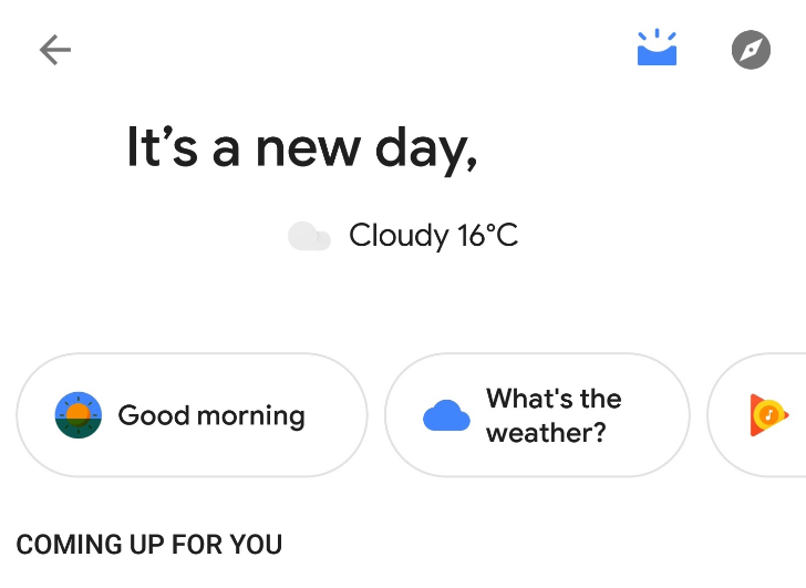 Google Assistant's personal overview page is going live for some users