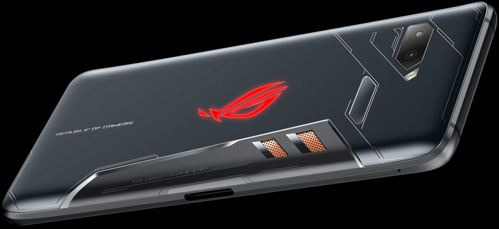 ASUS ROG gaming phone announced with overclocked SD845, 3D vapor-chamber cooling, and ultrasonic buttons