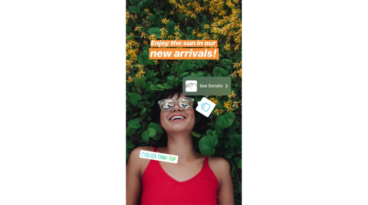 Instagram Stories will now display shopping links too