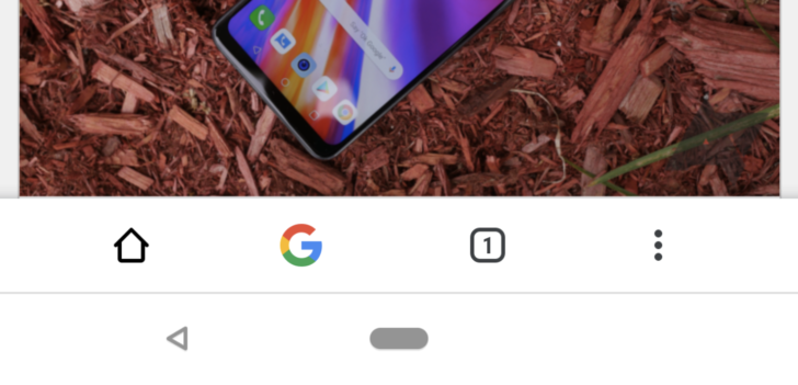 Chrome Duplex UI updated with bottom bar that mirrors top toolbar