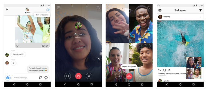 Instagram video calling, redesigned Explore tab available now