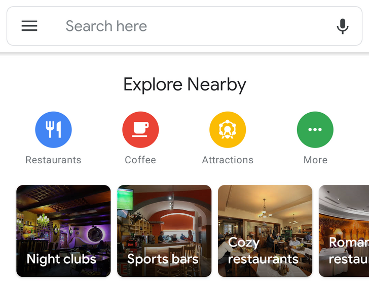 [Update: New layer chooser] Google Maps with extensive Material redesign is rolling out to some