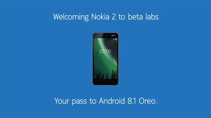 Nokia 2 gets its first Android Oreo 8.1 beta