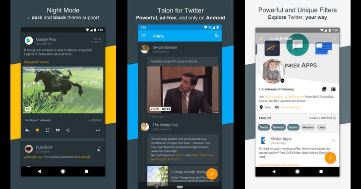 Talon for Twitter open-sourced by Klinker Apps