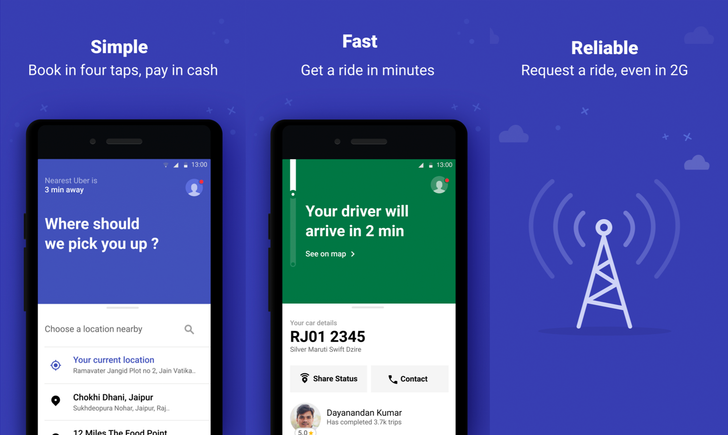 [Update: APK download] Uber is piloting a Lite version of its rider app in India