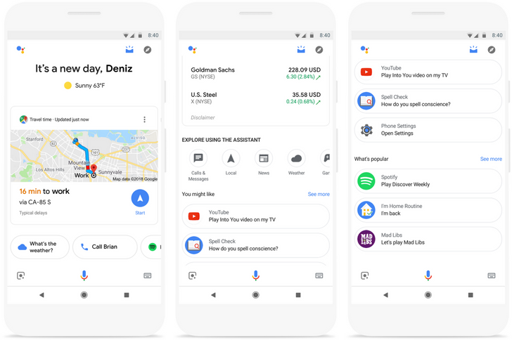 Google Assistant is the new home for Now's old contextual cards