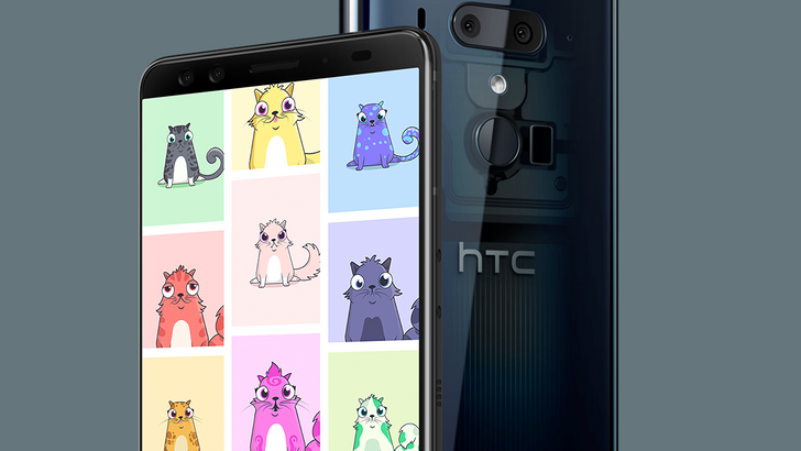 HTC hopes collectible 'CryptoKitties' will ease your U12+ buyer's remorse