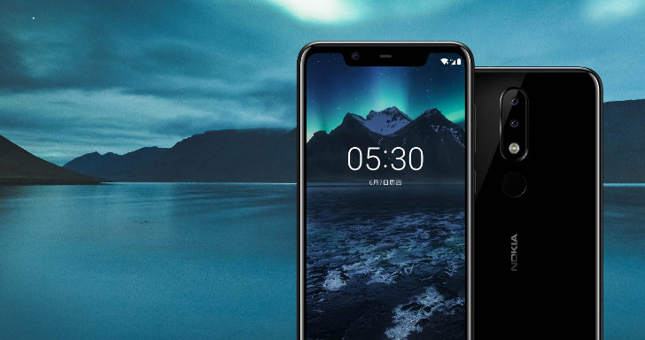 Nokia X5 jumps on the notch bandwagon with modest specs and fitting price