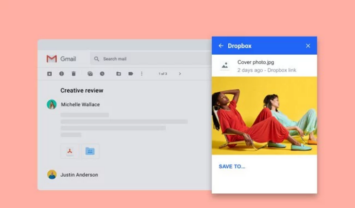 Dropbox's new Gmail Add-on makes file sharing quicker and easier