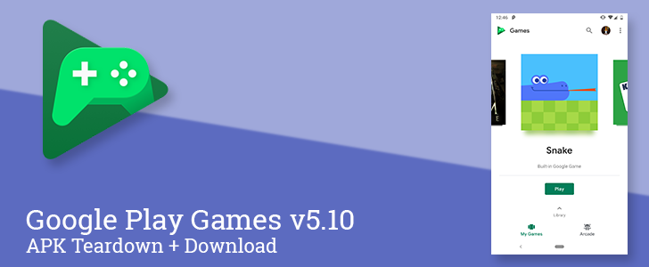 Google Play Games v5.10 adds search and allows disabling autoplay videos, prepares dark mode, and more [APK Teardown]