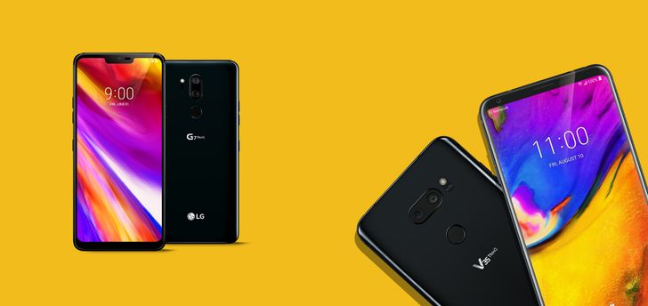 The LG G7 and V35 are now shipping on Project Fi